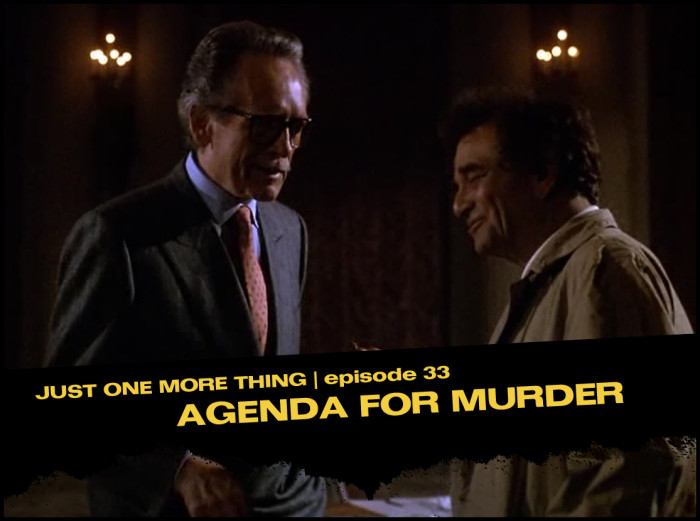 Episode Card - Agenda for Murder