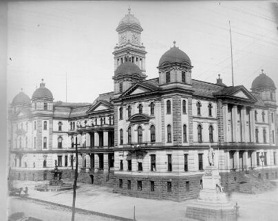 Old City Hall, just after completion (1888)