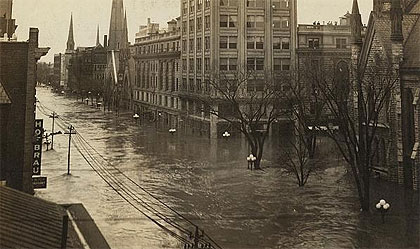 Snapshots: The Great Flood of 1914
