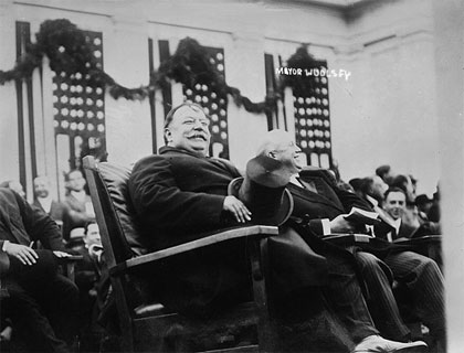 Snapshots: President William Howard Taft (1911)